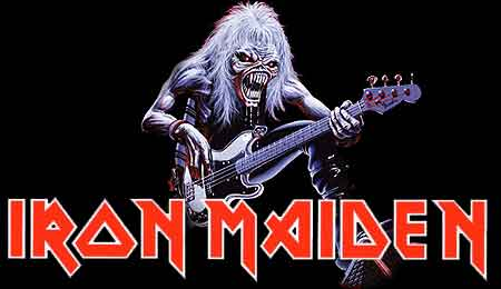 iron maiden en ingles: