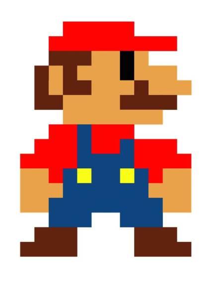 Mario Pixelado