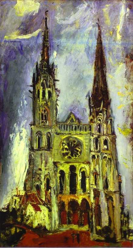 Catedral de Chartres - Chaim Soutuine (1934)