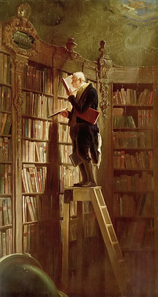 Carl Spitzweg - The Bookworm (1850)