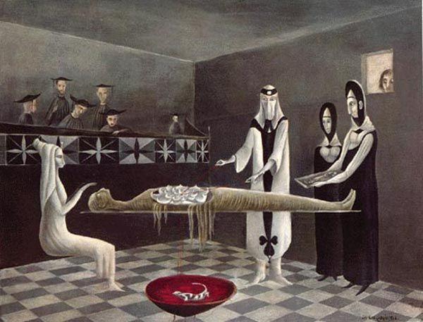 Leonora Carrington - Adieu Ammenotep (1960)