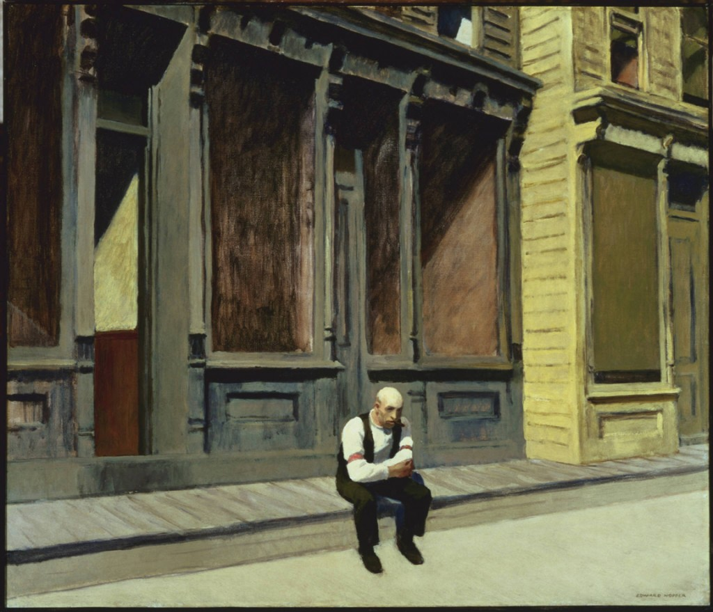 Edward Hopper - Sunday (1926)