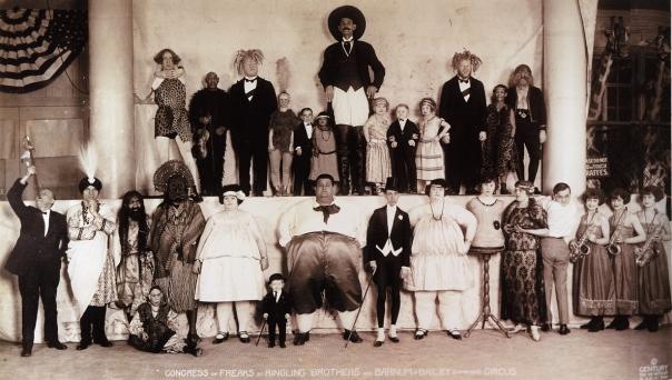 Congreso de Freaks (1924).