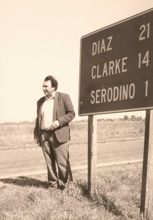 Juan José Saer (1937 - 2005) FOTOS GENTILEZA FAMILIA SAER REPRODUCCIONES: MARIA ARAMBURU