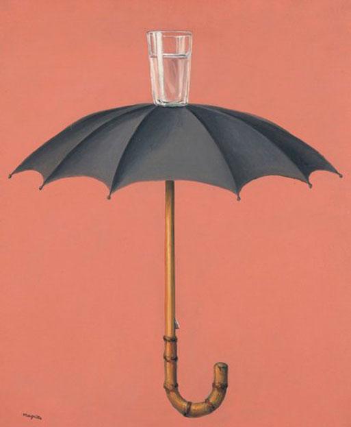 René Magritte - Les vacances de Hegel (1959).