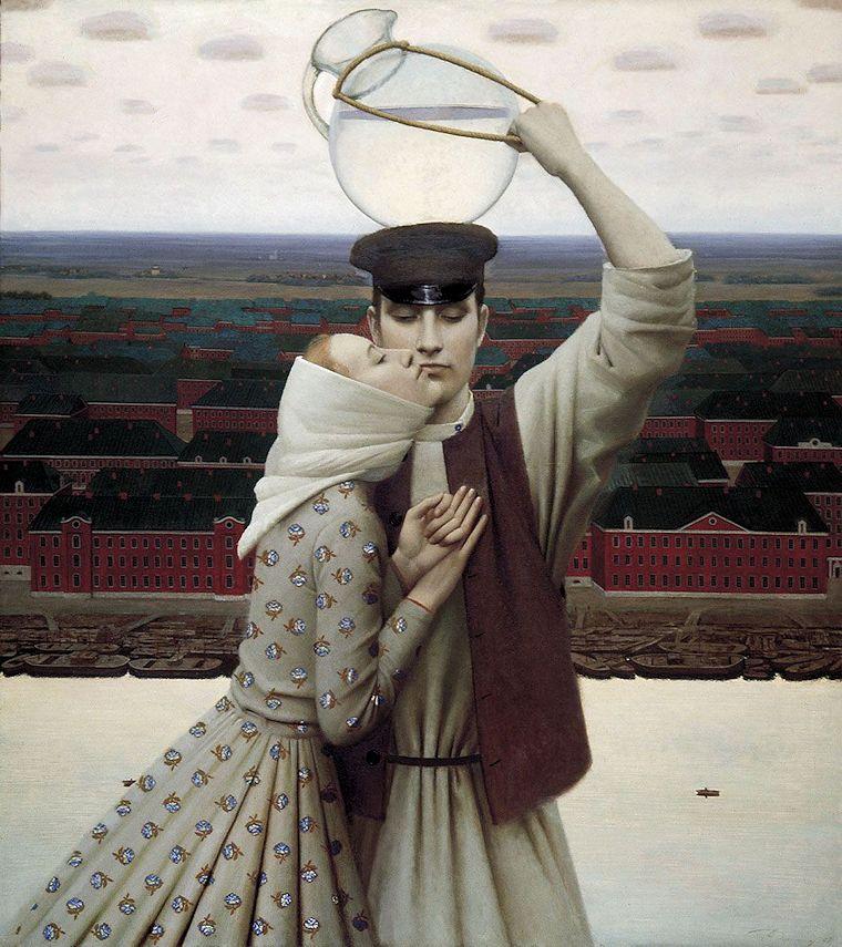 Pintura de Andrej Remnjov