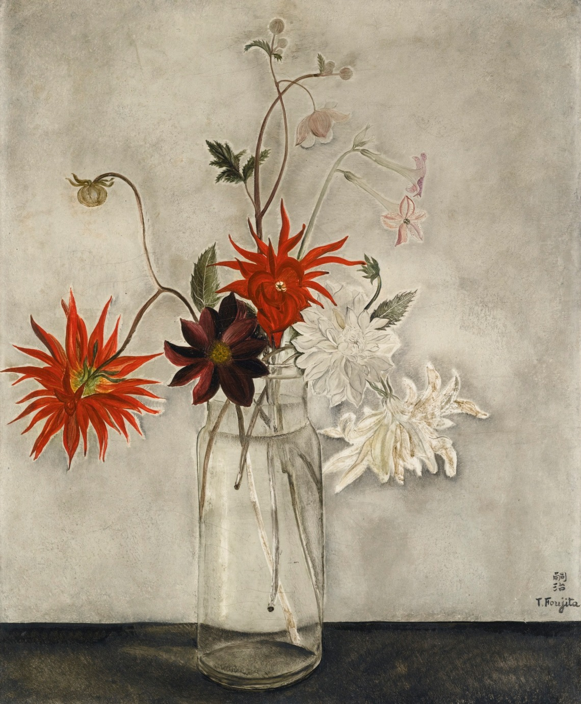 Leonard Tsuguharu Foujita (1886-1968) Les Dahlias 1921