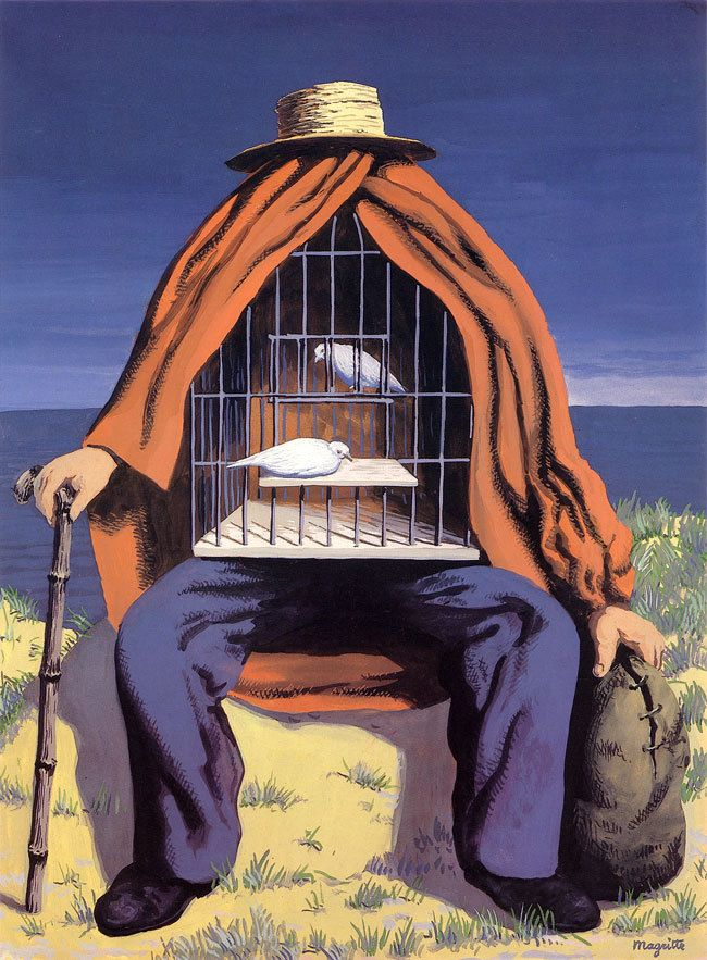 The Therapist - René Magritte (1937)